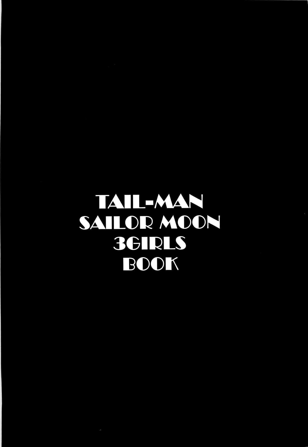 TAIL-MAN SAILORMOON 3GIRLS BOOK 1
