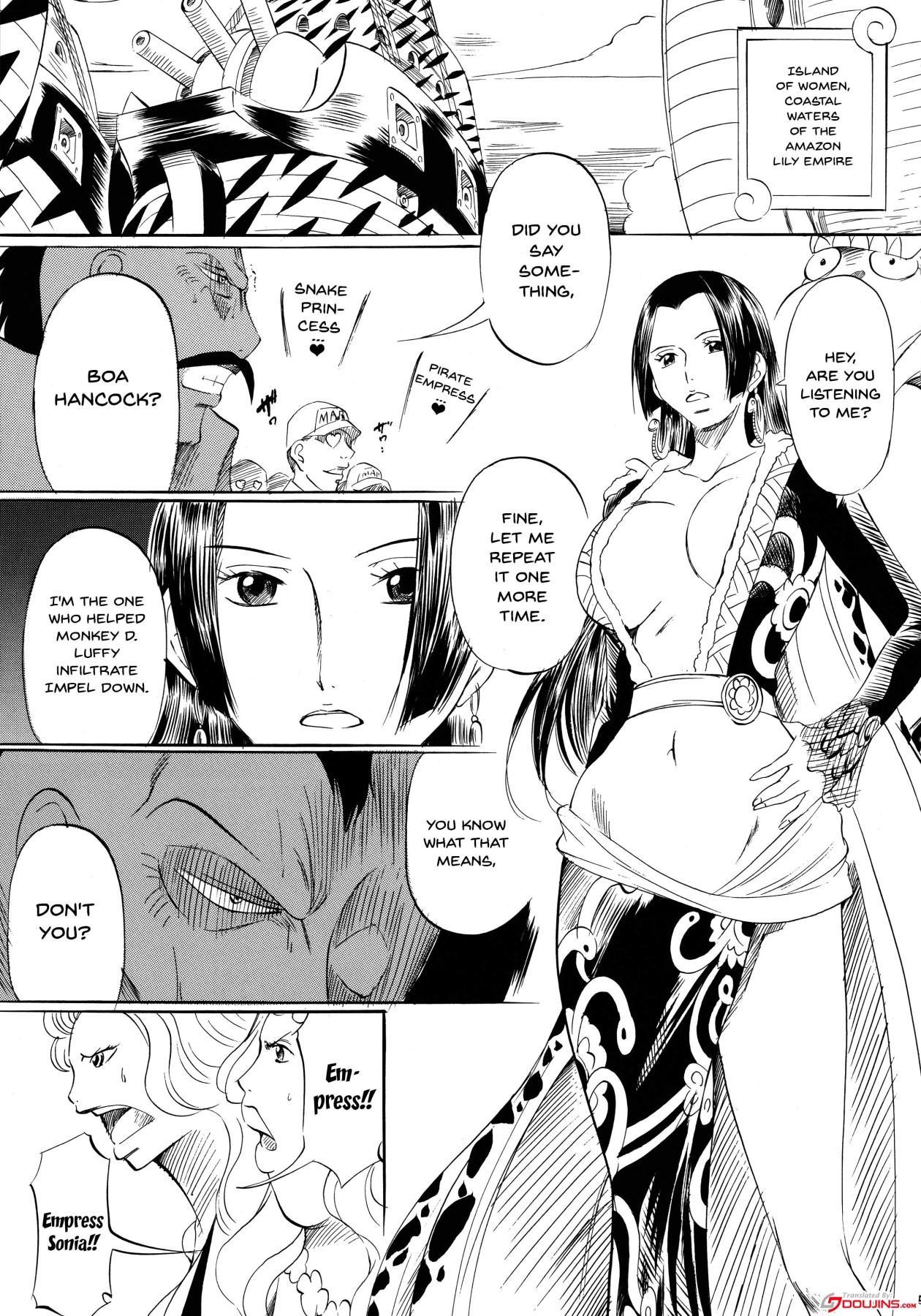 "[Busou Megami (Kannaduki Kanna)] Busou Megami Archives Series 1 ""Piece of Girl's ~Hancock Hen~"" (One Piece) [English] {Doujins.com} 3"