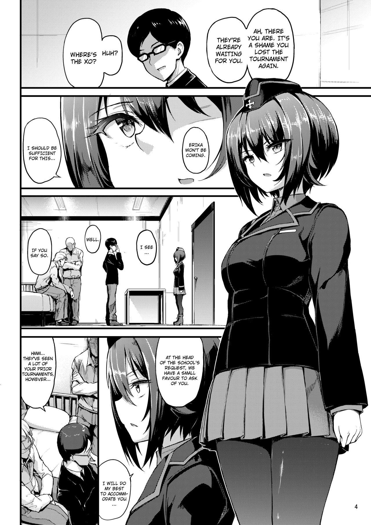 (C93) [Kyockchokyock (Kyockcho)] Kuromorimine Ryoujoku -Zenjitsu Shou- | The Rape of Kuromorimine -The First Day- (Girls und Panzer) [English] =7BA= 2
