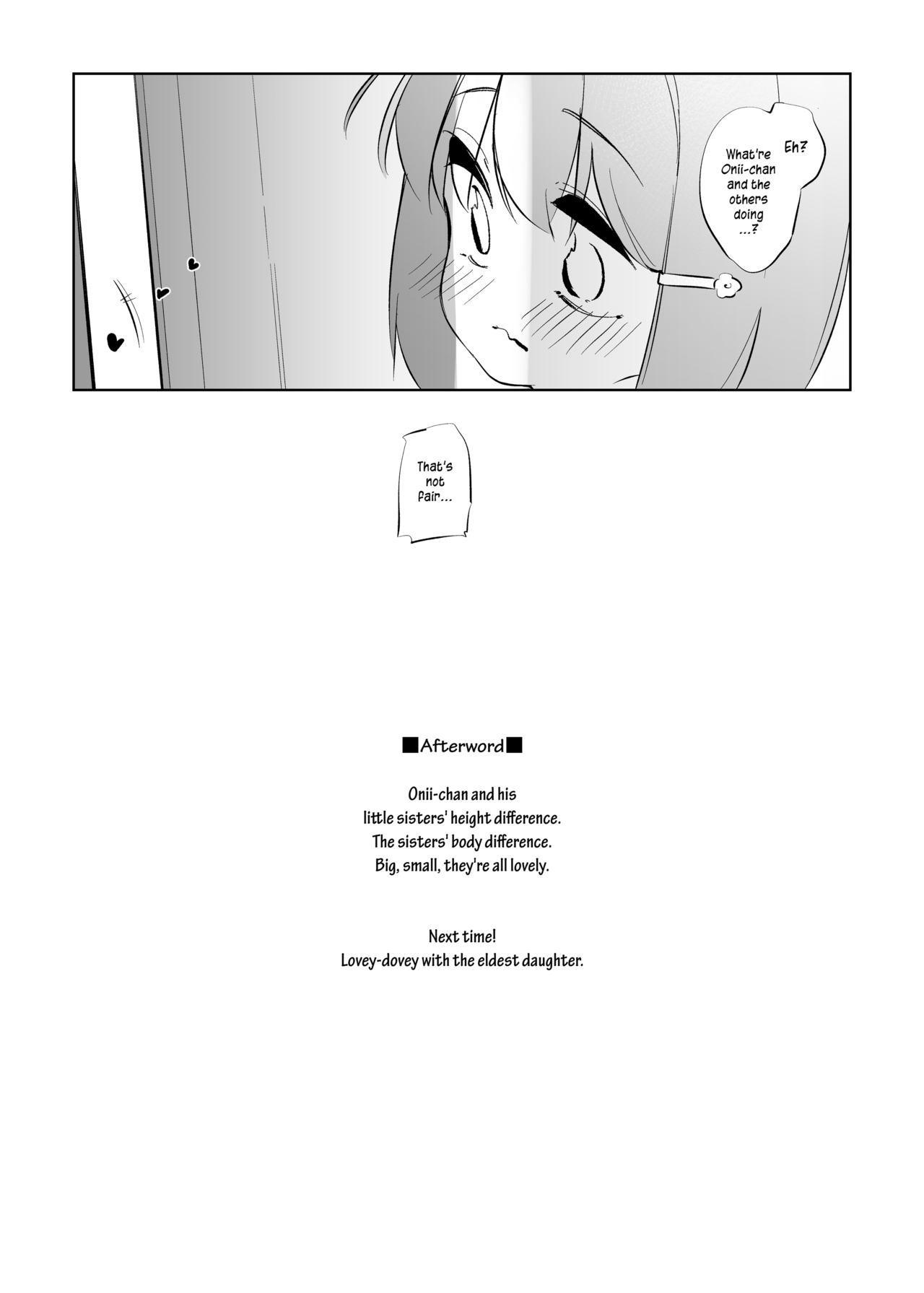 Imouto ni Hasamarete Shiawase Desho?   Between Sisters, Are You Happy? 22