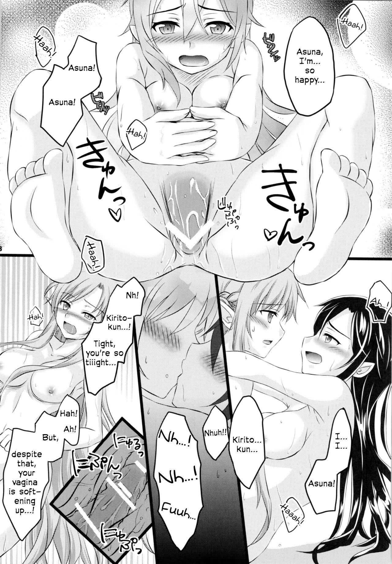 (C88) [AQUA SPACE (Asuka)] Kiriko-chan to Asobou! 2   Let's play with Kiriko-chan! 2 (Sword Art Online) [English] [EHCOVE] 16