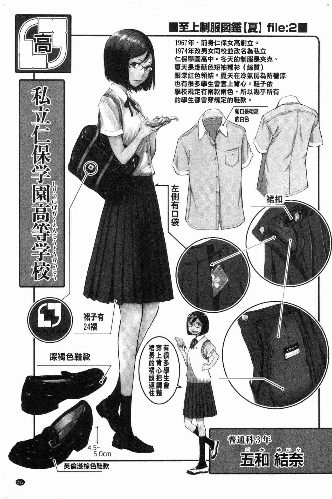 [Harazaki Takuma] Seifuku Shijou Shugi -Natsu- - Uniforms supremacy [Chinese] 218