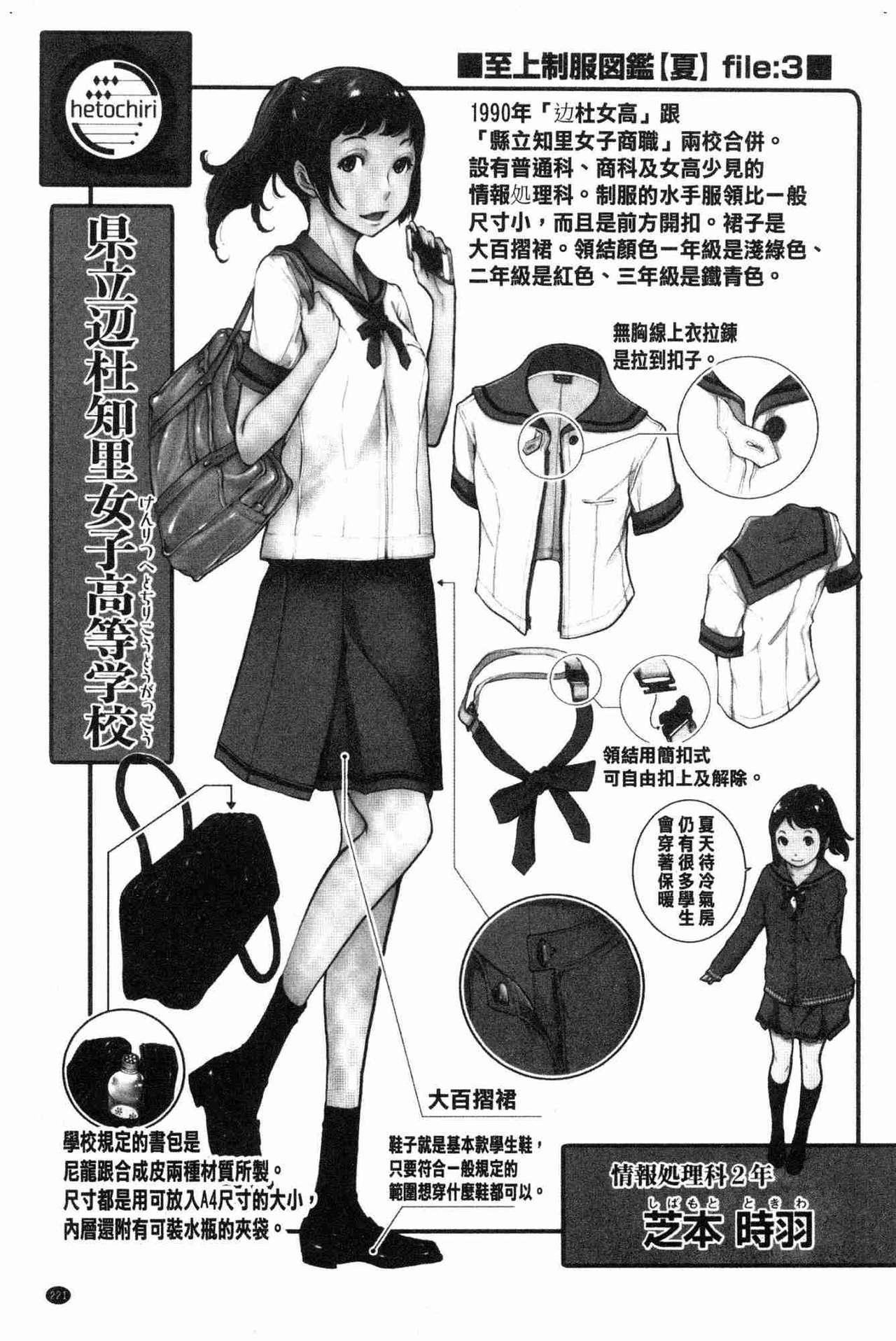 [Harazaki Takuma] Seifuku Shijou Shugi -Natsu- - Uniforms supremacy [Chinese] 220