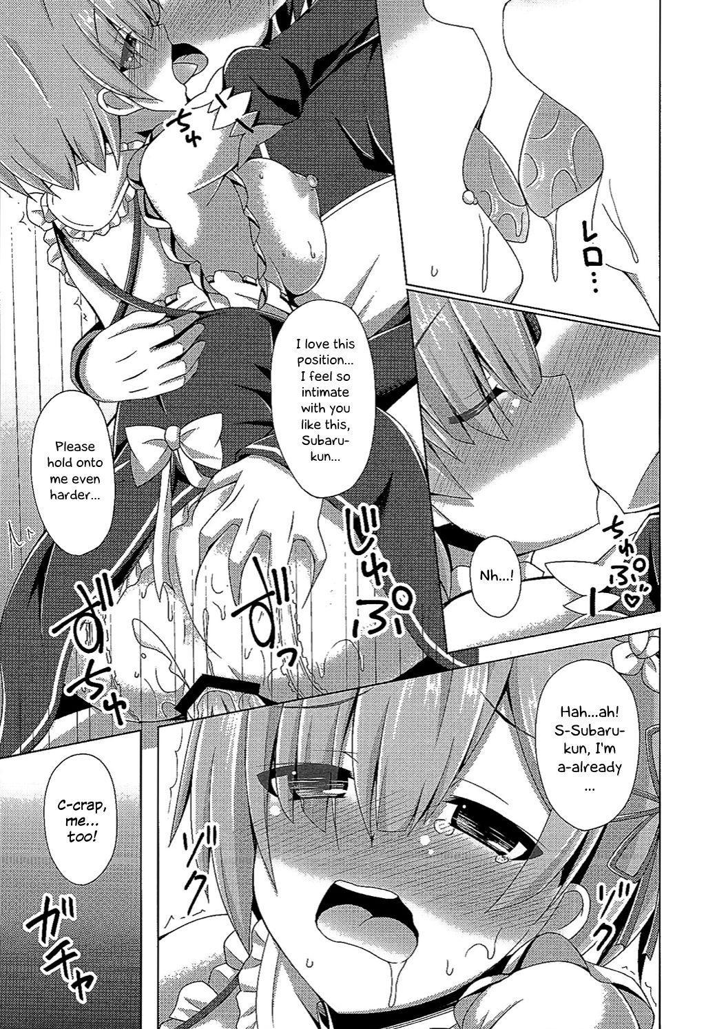 (C90) [Imitation Moon (Narumi Yuu)] Oshiete Rem Sensei - Emilia-tan to Manabu Hajimete no SEX | Teach me, Rem-sensei! An introduction to sex with Emilia-tan (Re:Zero kara Hajimeru Isekai Seikatsu) [English] [EHCOVE] 3