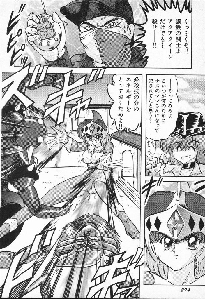 Seirei Tokusou Fairy Saber VS Granbass 293