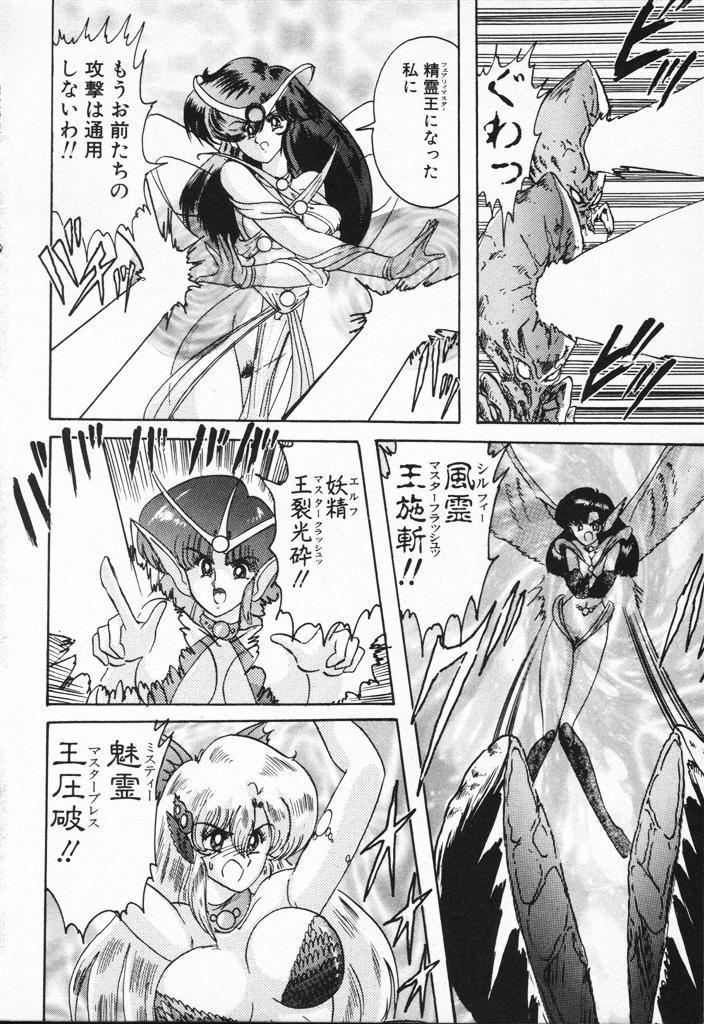 Seirei Tokusou Fairy Saber VS Granbass 389
