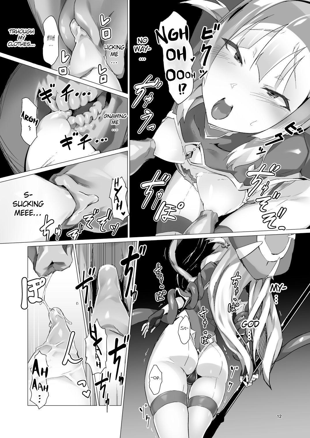 [OXIDE_Lab (OXIDEENGINE)] Kotohana -Sei Shinkan Shokushu Nyuujoku Choukyou- | Unusual Flower -Breaking in the Holy Priestess with Tentacle Breast Torture- [English] [cutegyaruTL] [Digital] 10