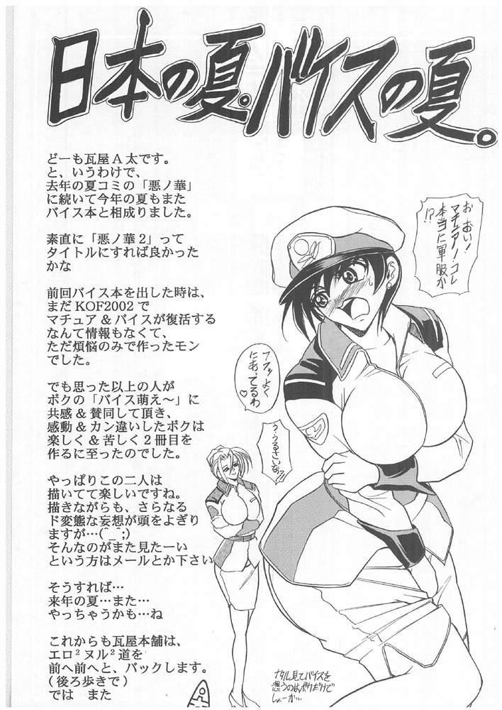(C64) [Kawaraya Honpo (Kawaraya A-ta)] Hana - Maki no Roku - Hana no Toge (King of Fighters) 39
