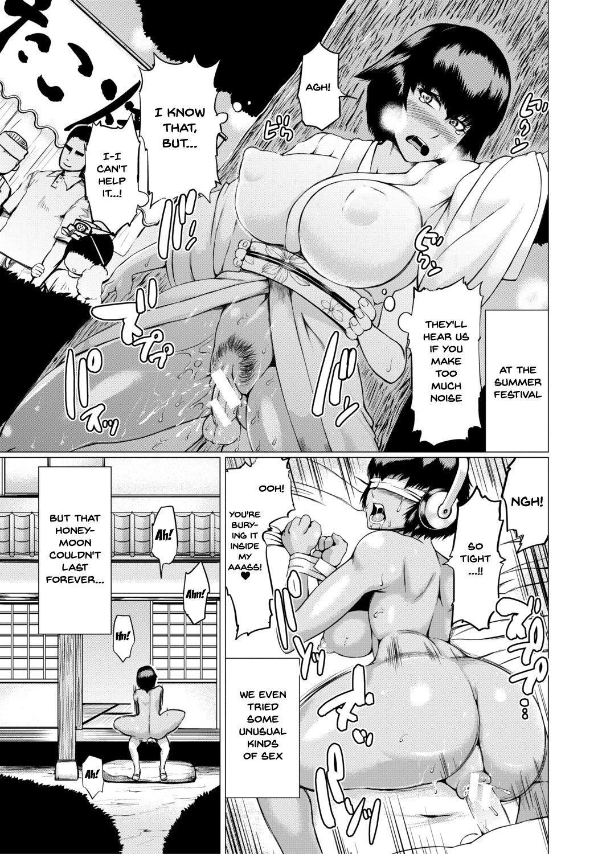 [Kizaru] Nikuheki Shibori -Monmon Muchi Oba Body- | The Meat Wall Squeeze -With Thick Milf Bodies- Ch. 1 [English] {Doujins.com} [Digital] 19