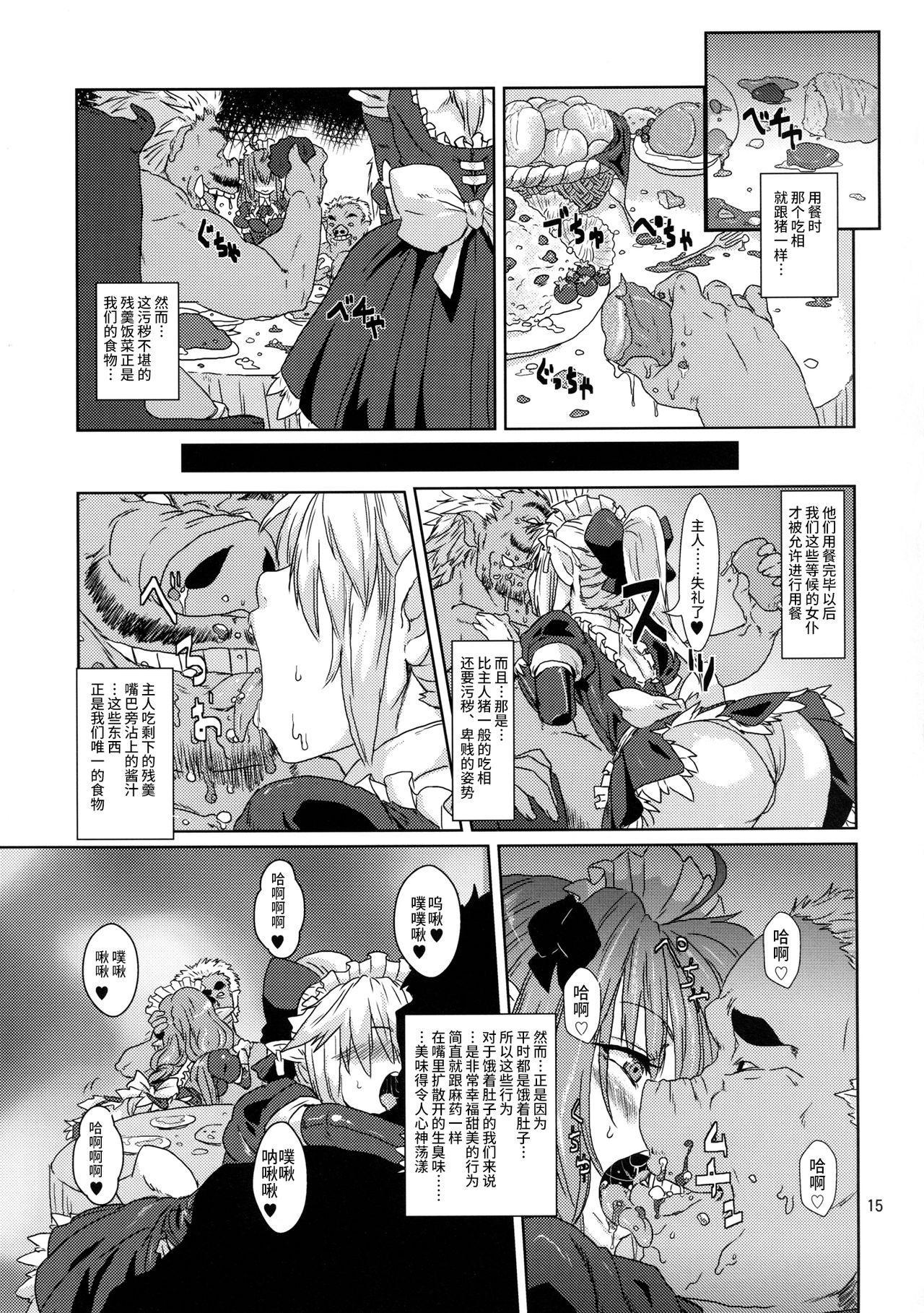 Kodomo Orc ni Kanzen Ochisaserarete Netorareru Mesu Elf 13