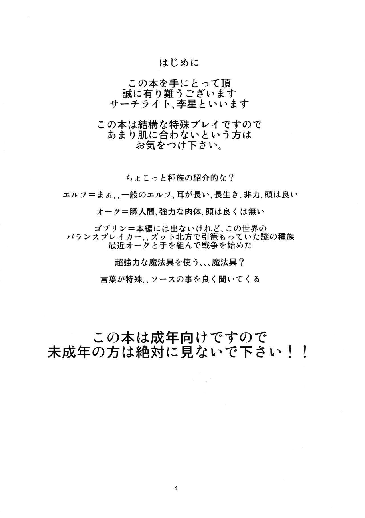 Kodomo Orc ni Kanzen Ochisaserarete Netorareru Mesu Elf 2