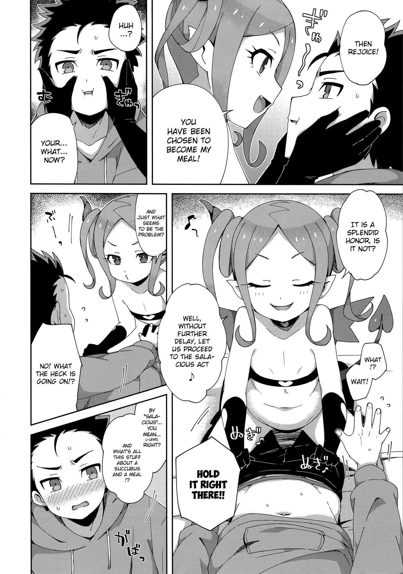 Hajimete wa Succubus 6