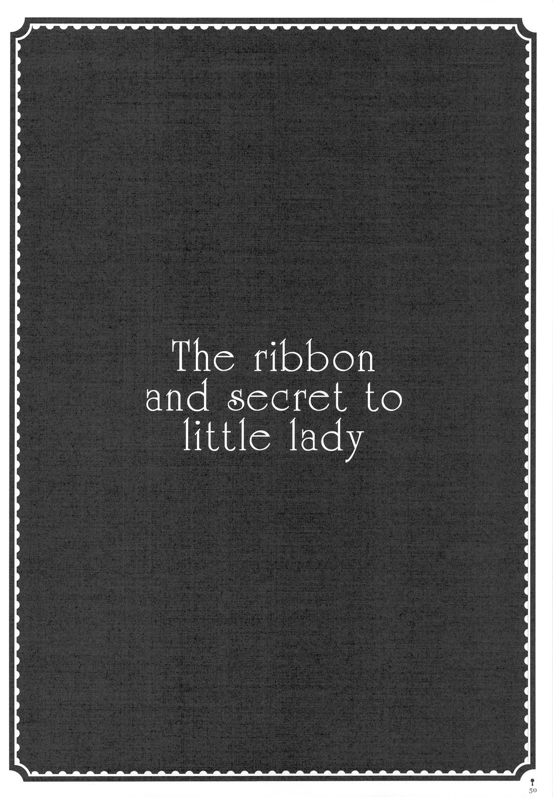 The ribbon and secret to little lady 51