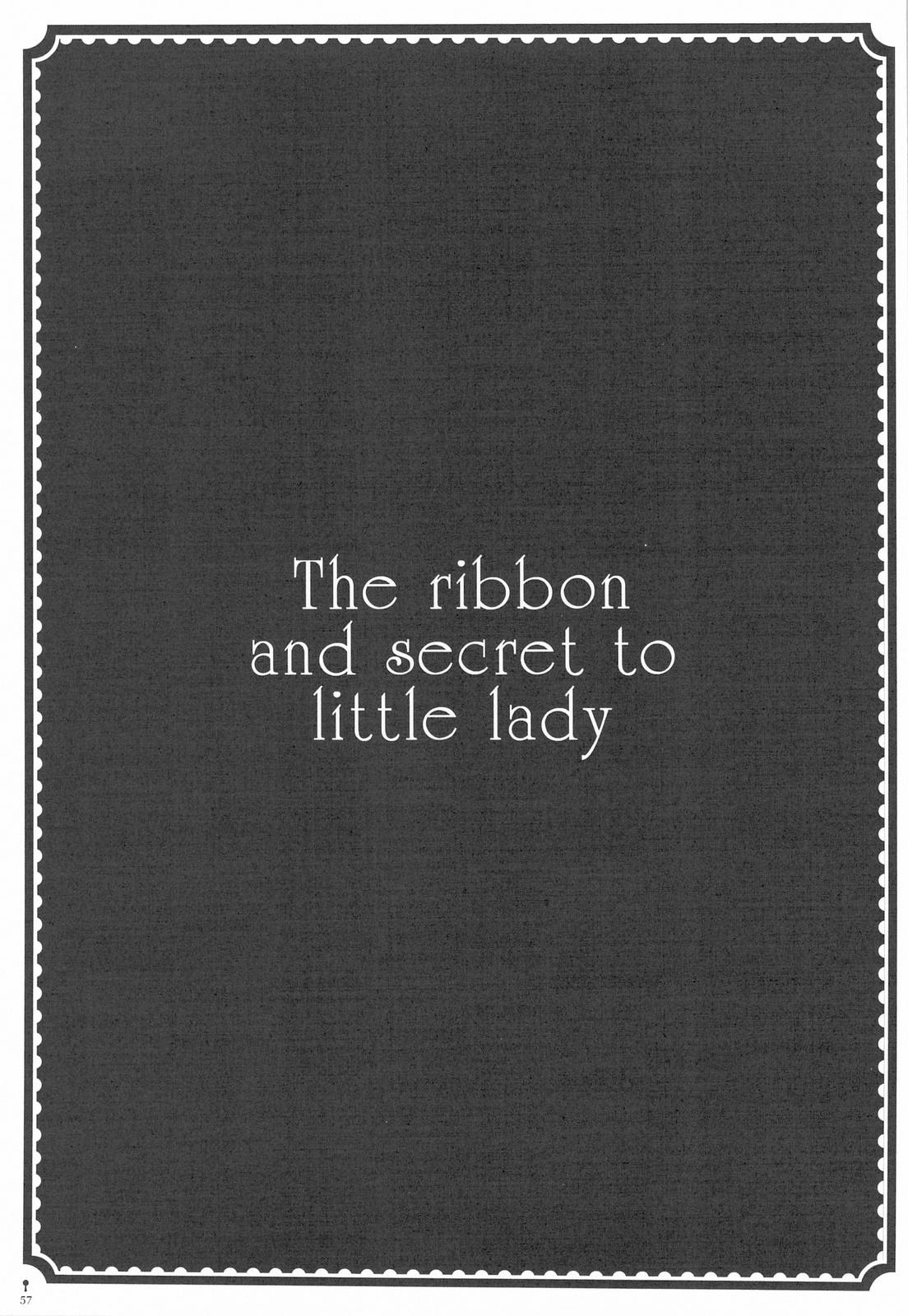 The ribbon and secret to little lady 58