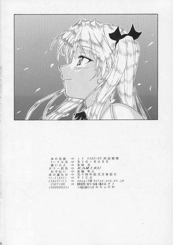 if CASE 02 Sawachika Eri 25