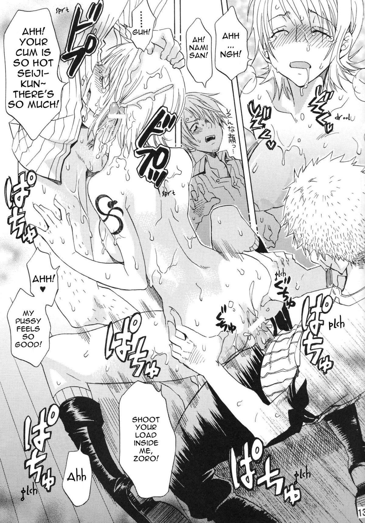 (C74) [Kurione-sha (YU-RI)] Nami-chan to mou 1kai!   Nami-chan in... One More Time! (One Piece) [English] {doujin-moe.us} 11