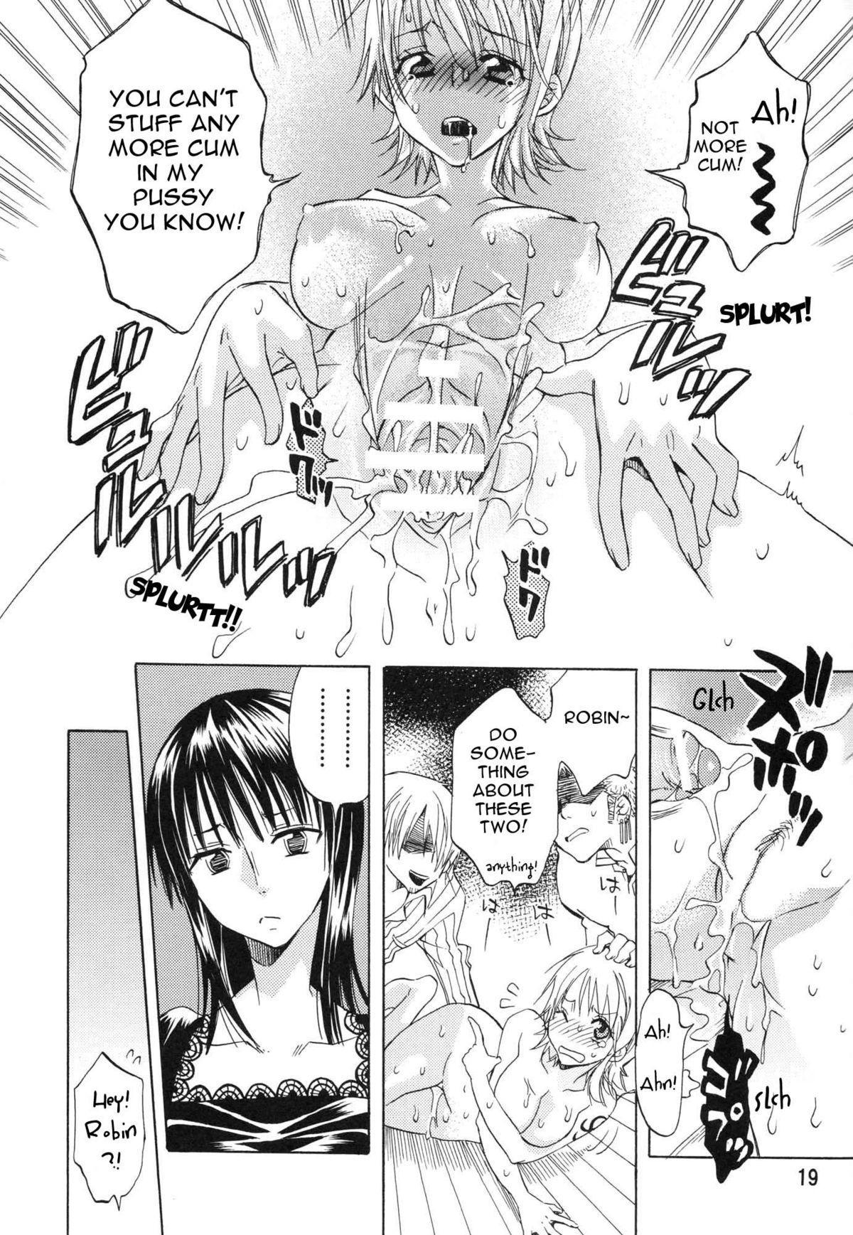 (C74) [Kurione-sha (YU-RI)] Nami-chan to mou 1kai!   Nami-chan in... One More Time! (One Piece) [English] {doujin-moe.us} 17