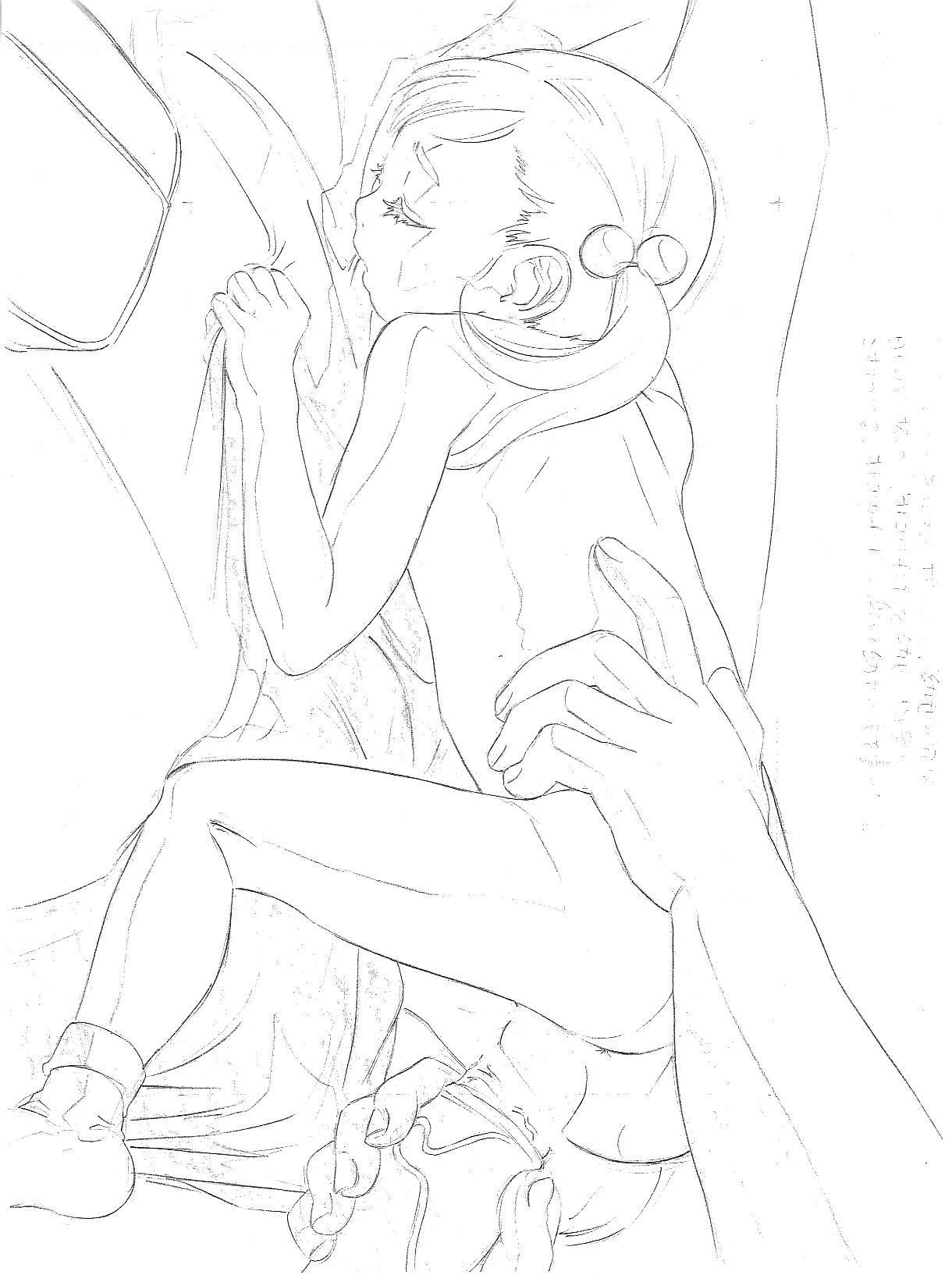 Original Rough Genga Copy Shuu 16