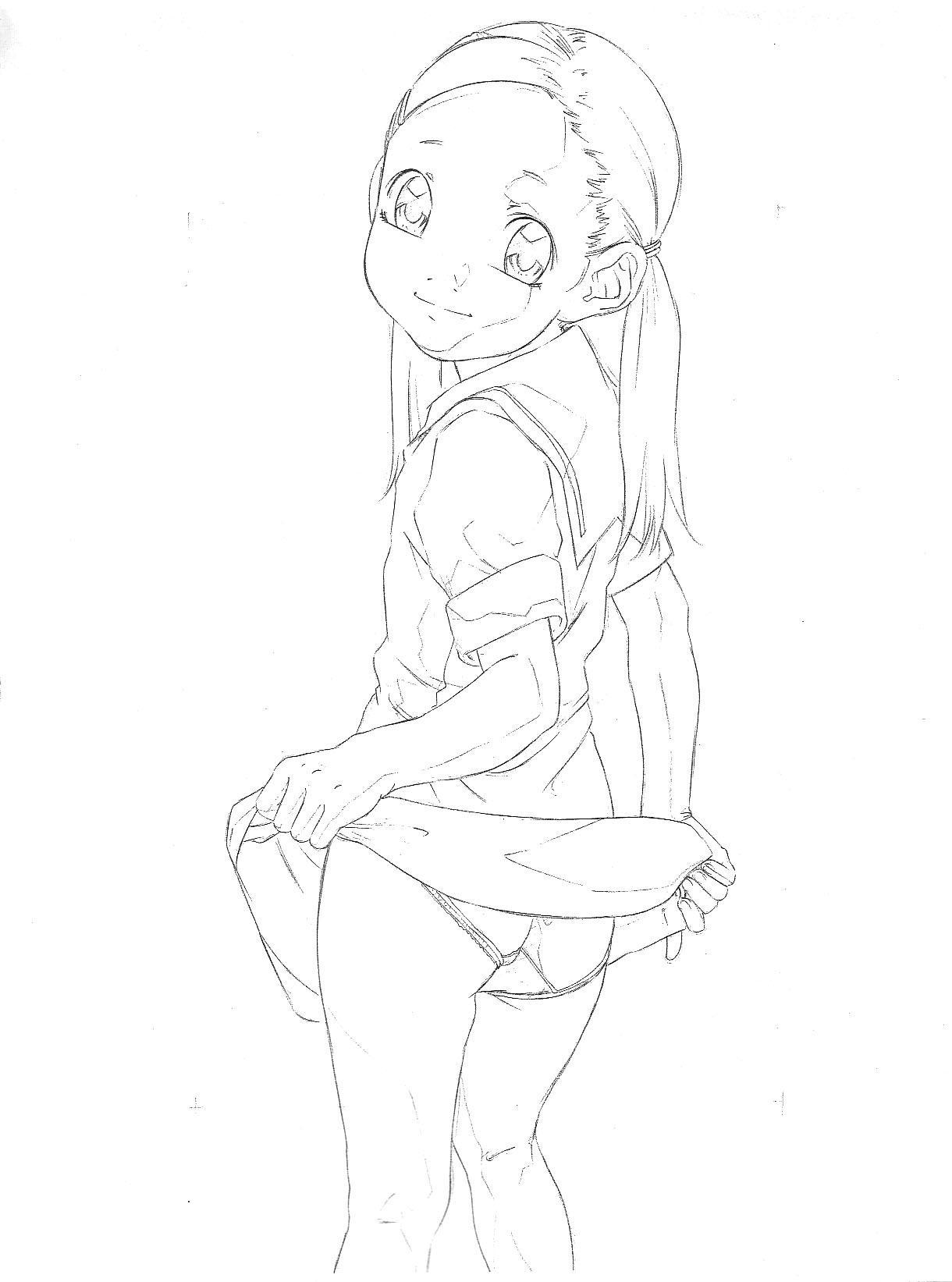 Original Rough Genga Copy Shuu 1