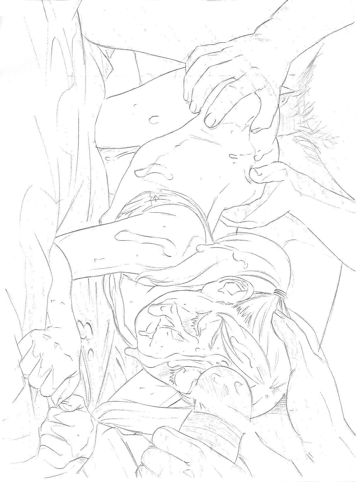 Original Rough Genga Copy Shuu 27