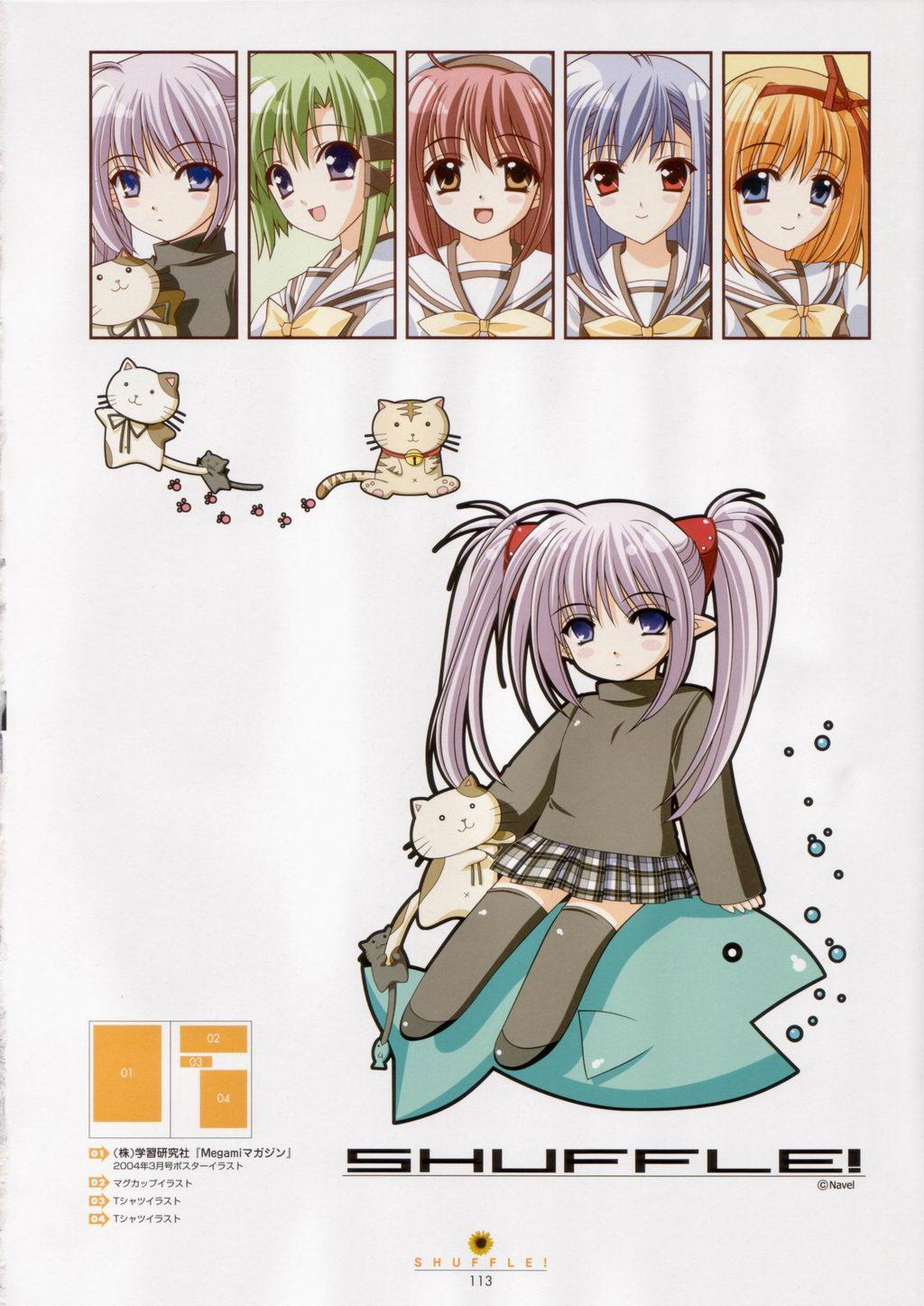 SHUFFLE! Visual Fan Book 113