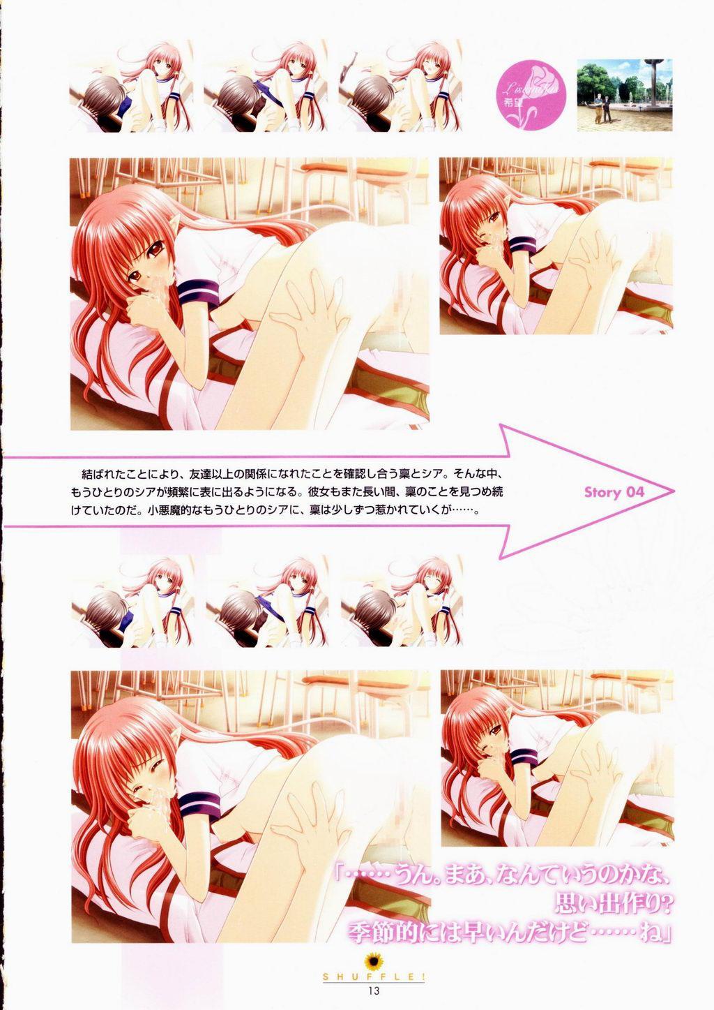 SHUFFLE! Visual Fan Book 13