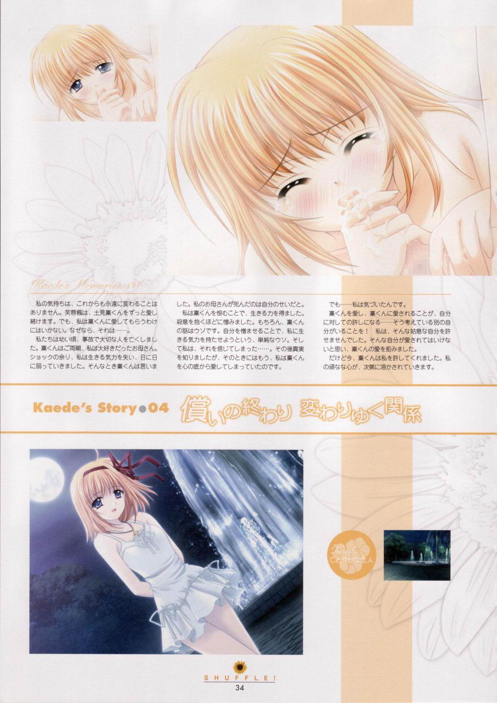 SHUFFLE! Visual Fan Book 34