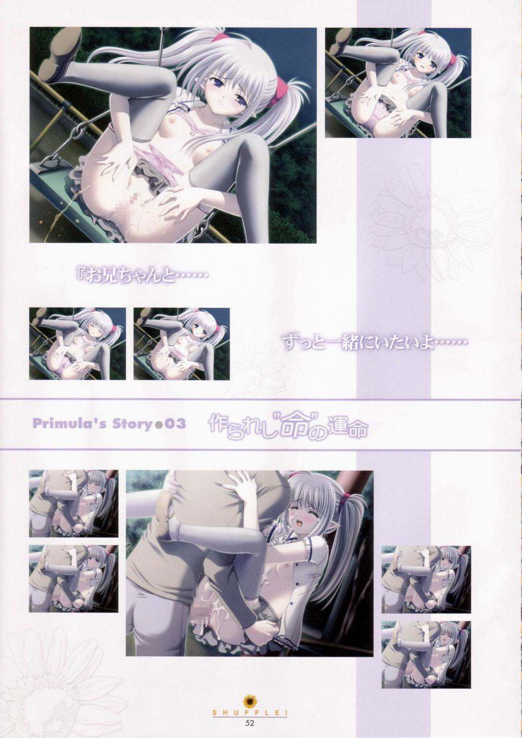 SHUFFLE! Visual Fan Book 52