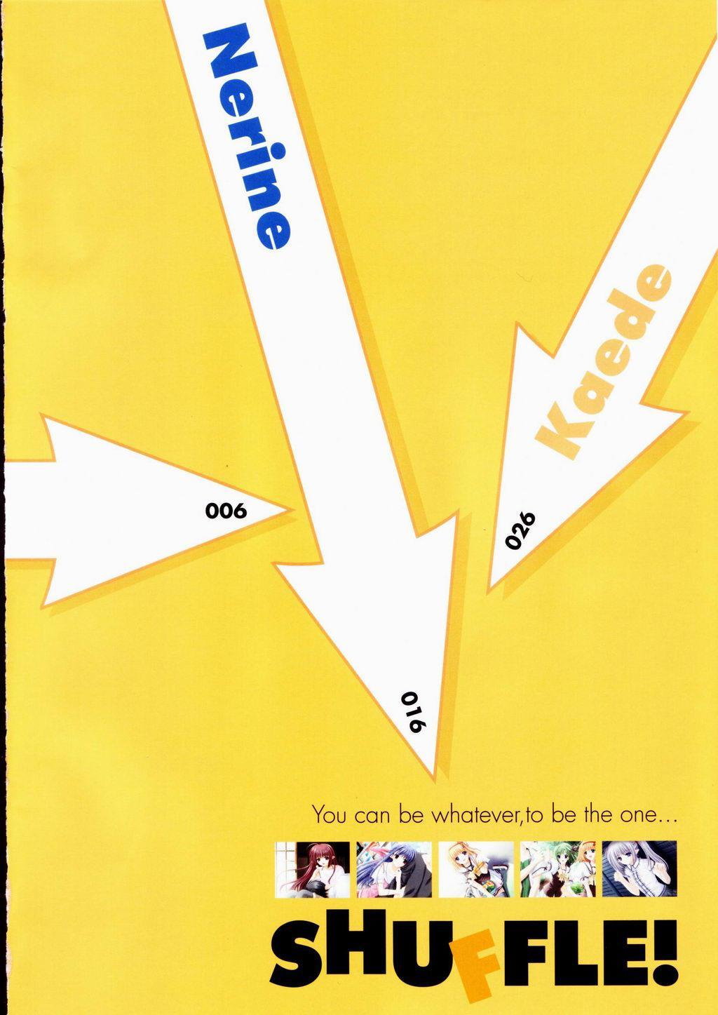 SHUFFLE! Visual Fan Book 5