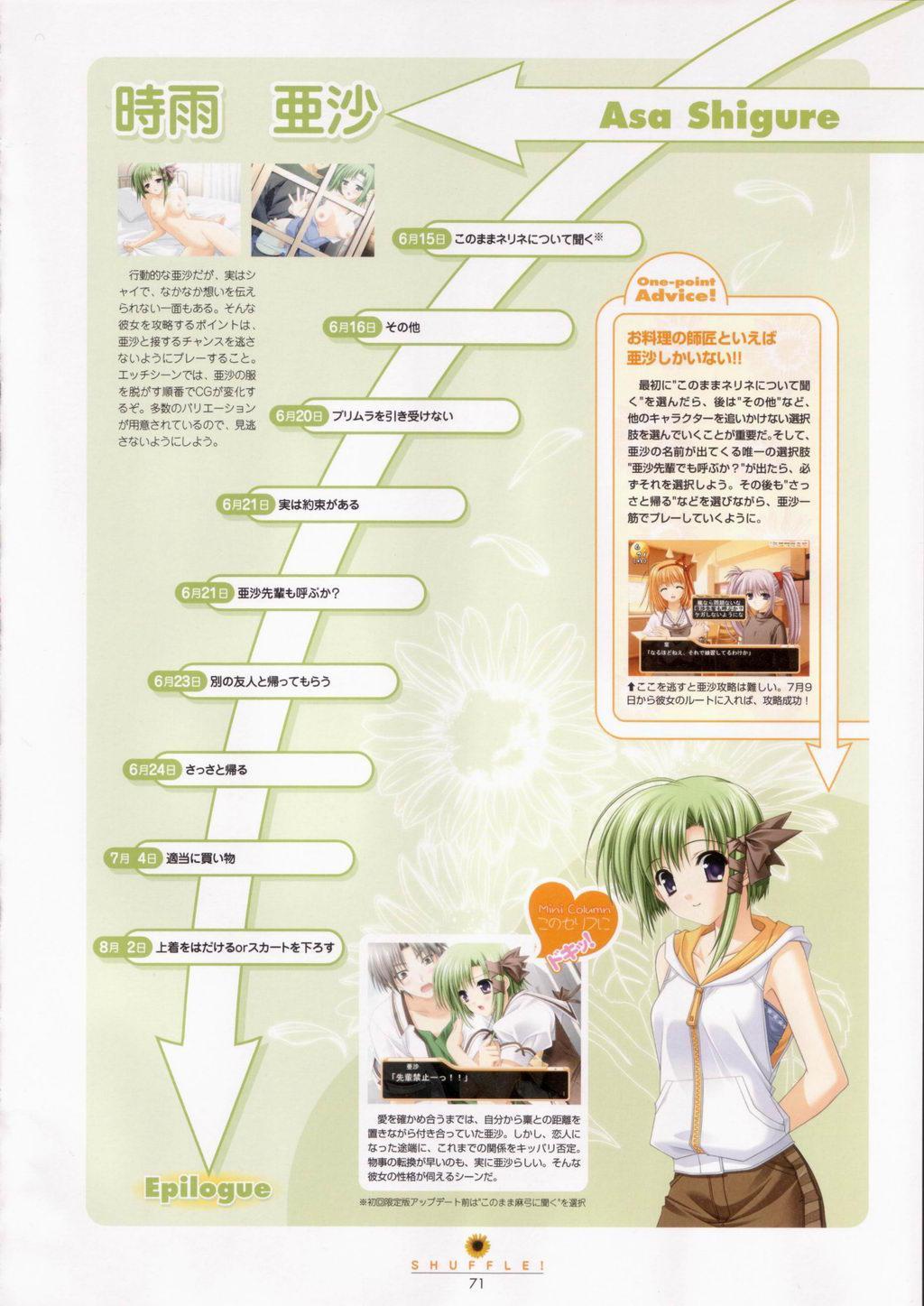 SHUFFLE! Visual Fan Book 71