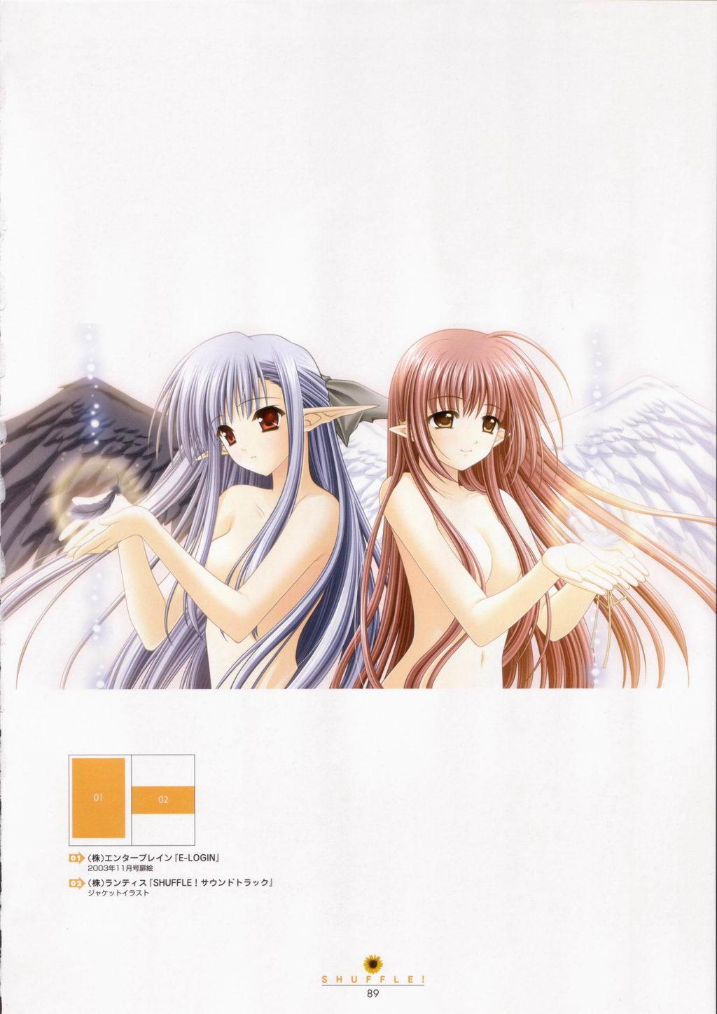 SHUFFLE! Visual Fan Book 89