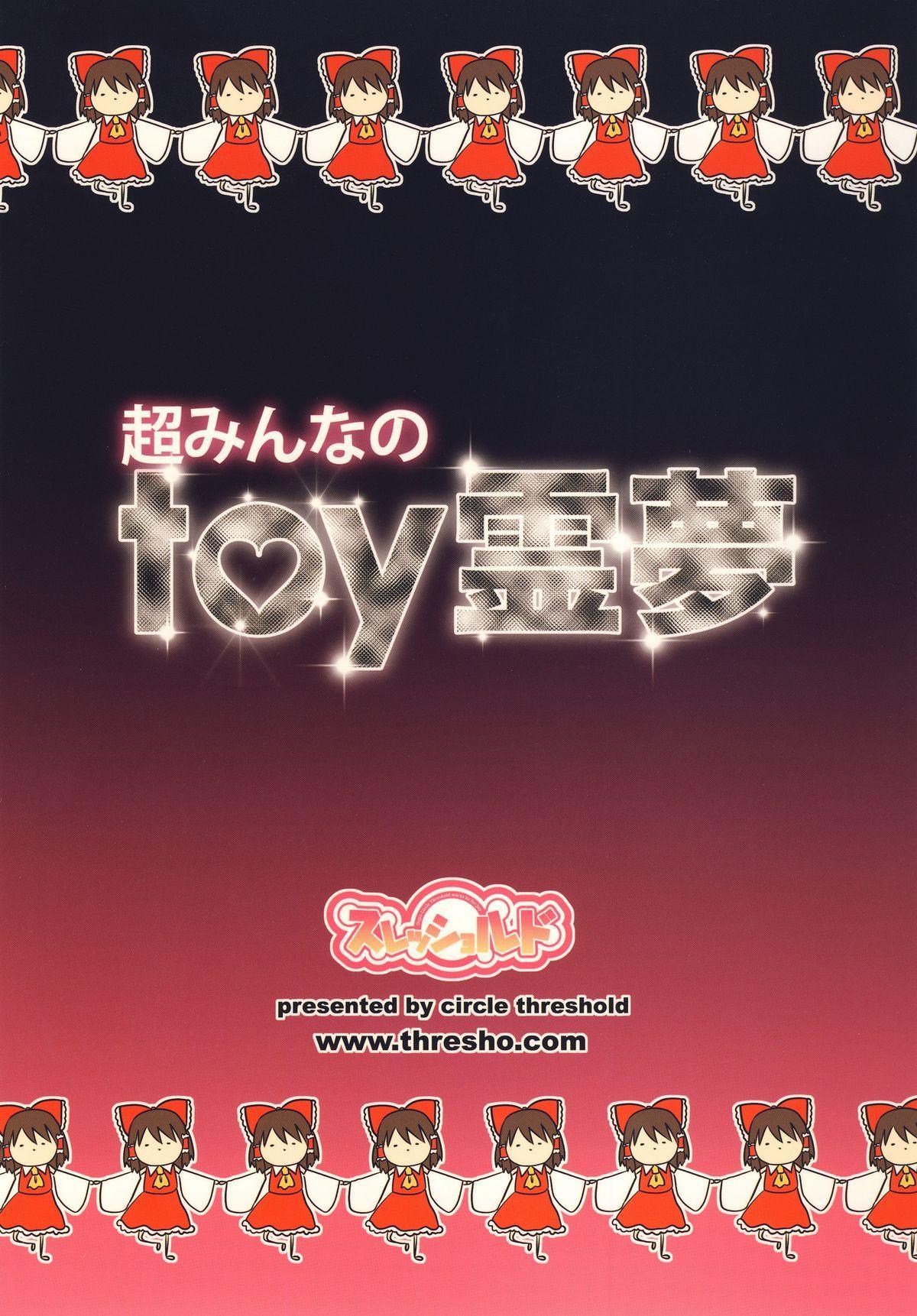 Chou Minna no toy Reimu 19