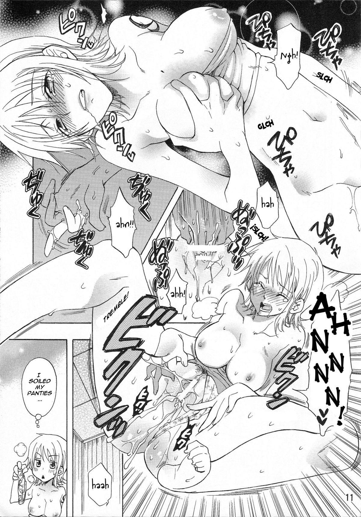 (C75) [Kurione-sha (YU-RI)] Nami-chan to A SO BO | Let's Play with Nami-chan! (One Piece) [English] [haai1717] 10