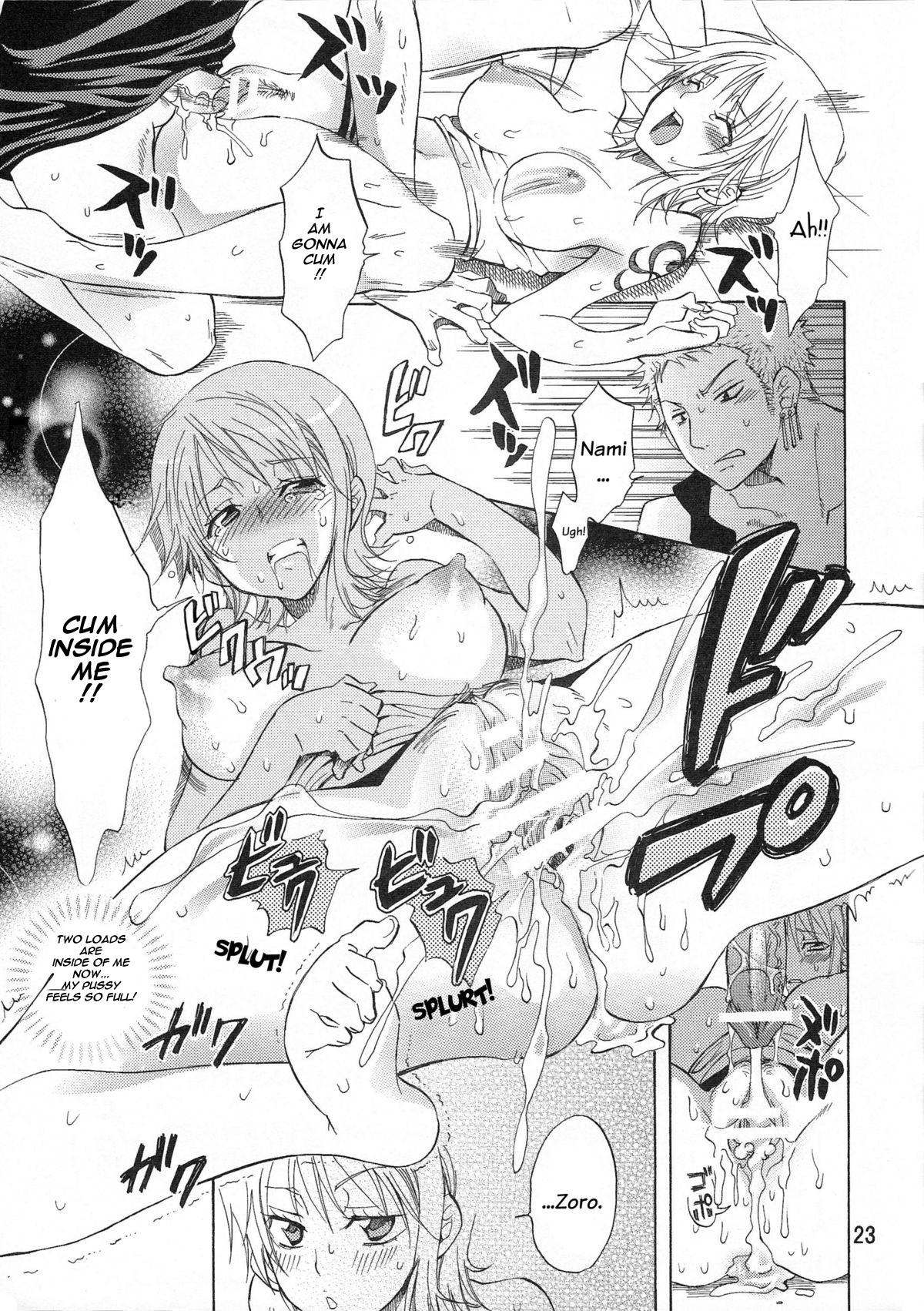 (C75) [Kurione-sha (YU-RI)] Nami-chan to A SO BO | Let's Play with Nami-chan! (One Piece) [English] [haai1717] 22