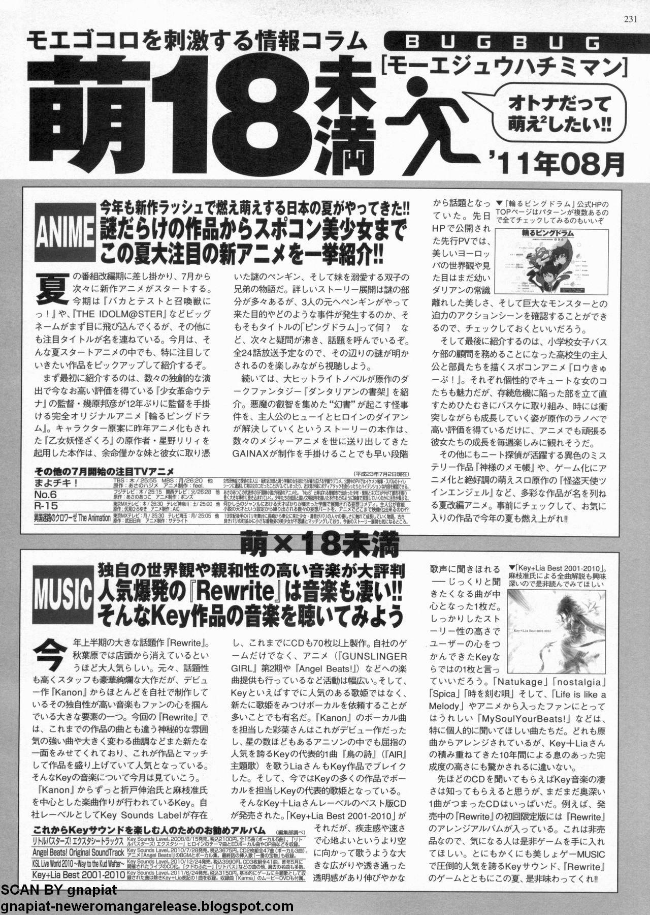 BugBug 2011-08 Vol. 204 228
