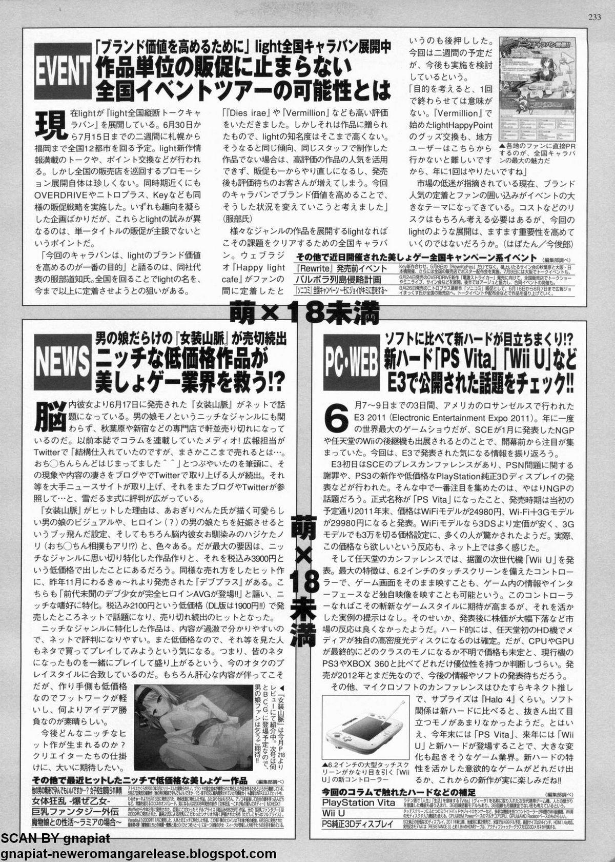 BugBug 2011-08 Vol. 204 230