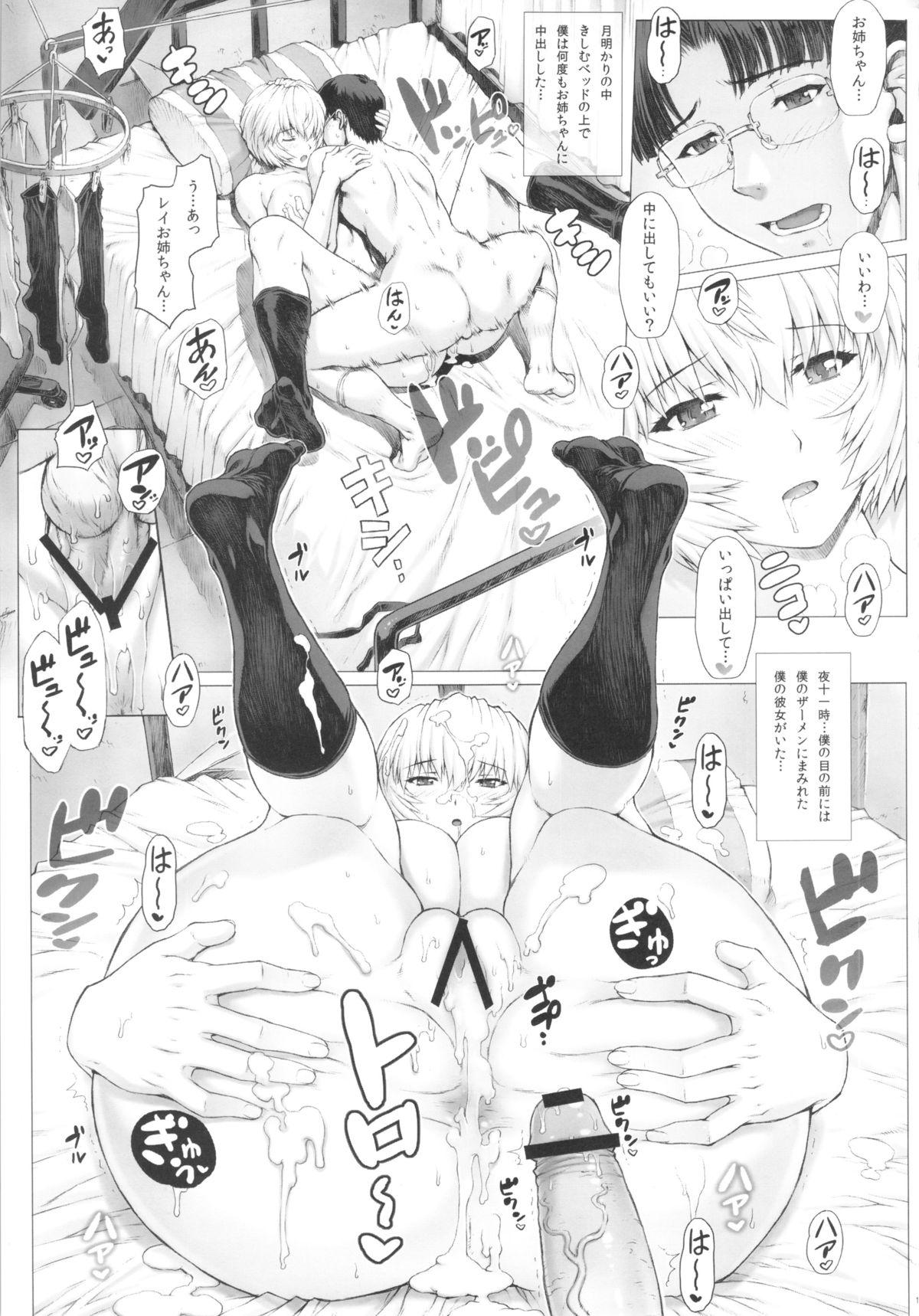 Ayanami Dai 4 Kai + Omake Bon + Postcard 12