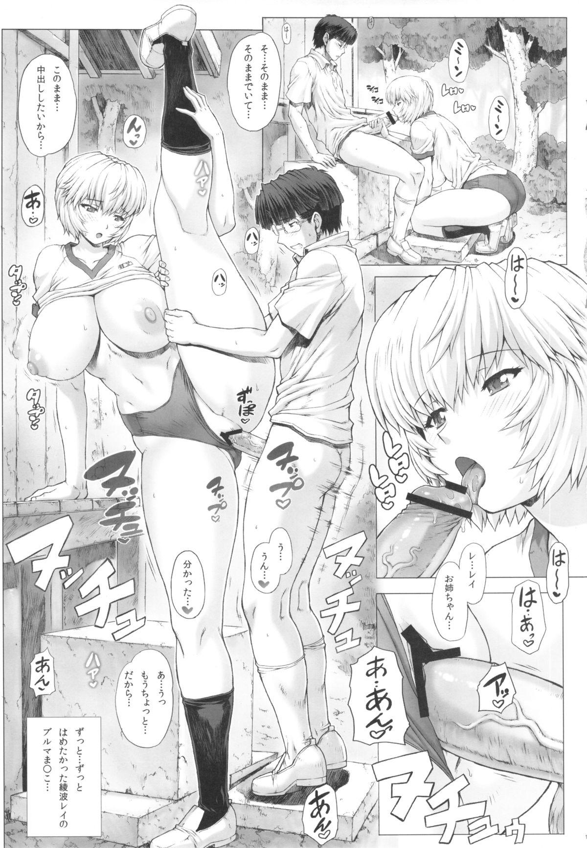 Ayanami Dai 4 Kai + Omake Bon + Postcard 14