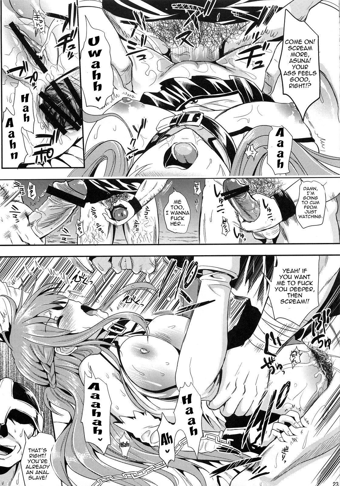 (C83) [YURIRU-RARIKA (Kojima Saya, Lazu)] Shujou Seikou II α Watashi... Okasarete Anal ni Mezamemashita | Captive Sex II - After Being R-ped, I was Awakened to Anal (Sword Art Online) [English] {doujin-moe.us} 21