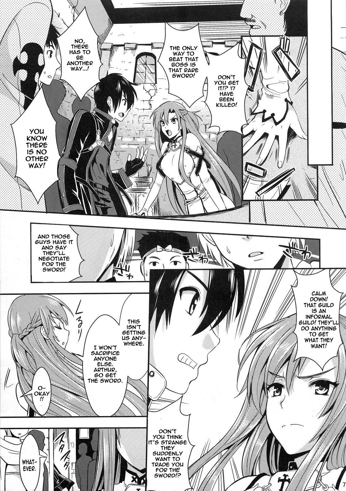 (C83) [YURIRU-RARIKA (Kojima Saya, Lazu)] Shujou Seikou II α Watashi... Okasarete Anal ni Mezamemashita | Captive Sex II - After Being R-ped, I was Awakened to Anal (Sword Art Online) [English] {doujin-moe.us} 5