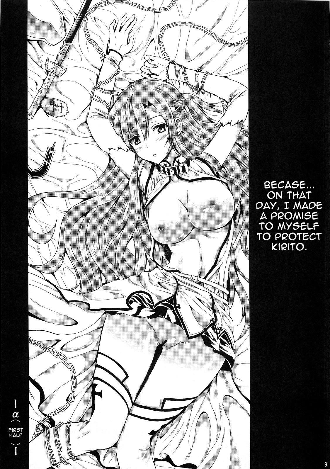 (C83) [YURIRU-RARIKA (Kojima Saya, Lazu)] Shujou Seikou II α Watashi... Okasarete Anal ni Mezamemashita | Captive Sex II - After Being R-ped, I was Awakened to Anal (Sword Art Online) [English] {doujin-moe.us} 7