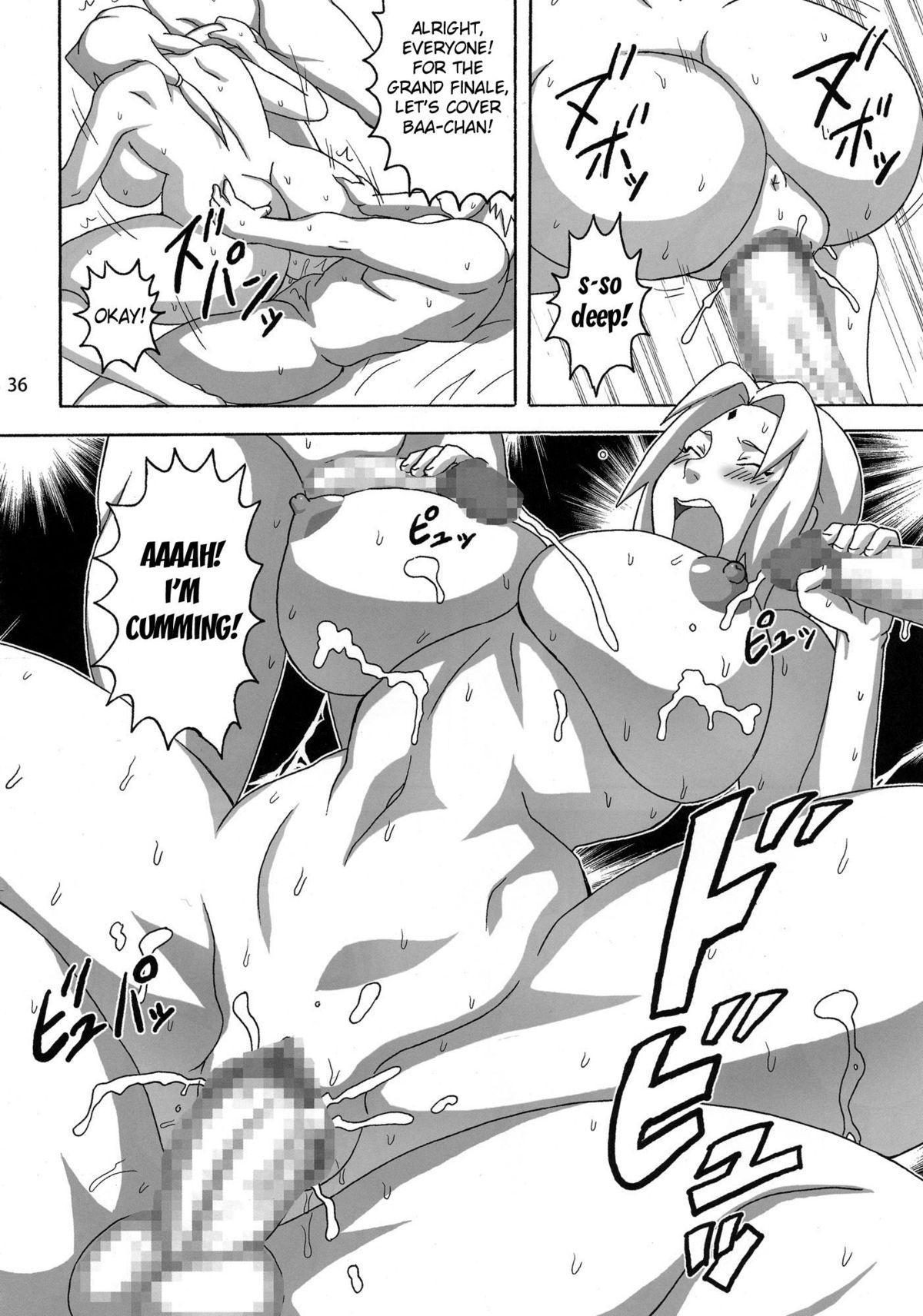 Konoha no Sei Shorigakari | Konoha's Sexual Healing Ward 36