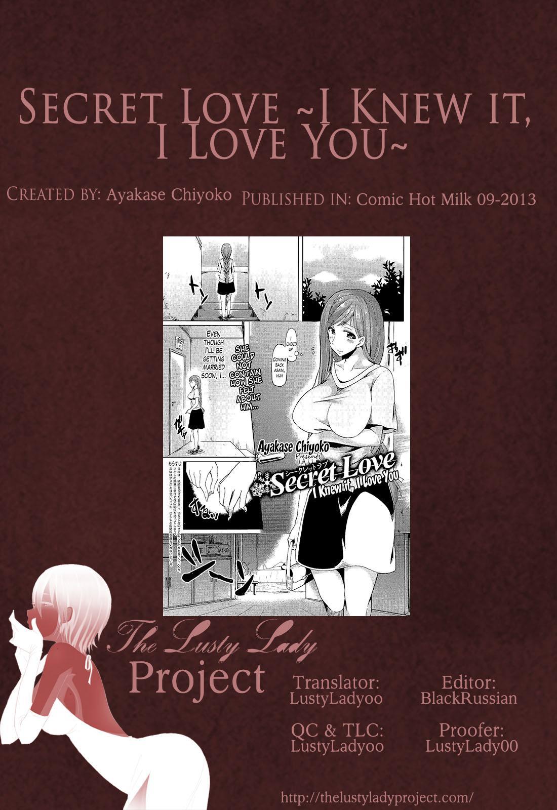 Secret Love Ch.1 + Extra Ch.2+ 3 40